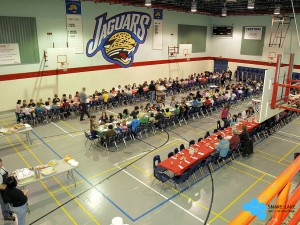 Christmas Dinner at St Johns School